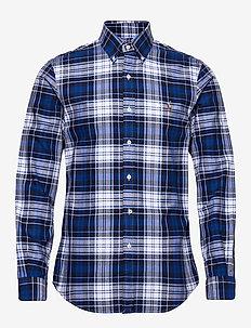 Slim Fit Oxford Shirt - 4336 BLUE/WHITE M