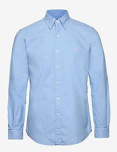 Custom Fit Oxford Shirt - BLUE LAGOON
