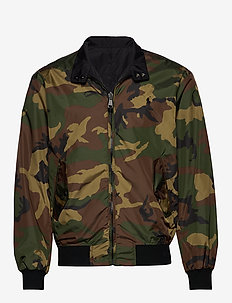 Reversible Windbreaker - bomberjacken - surplus camo/ pol
