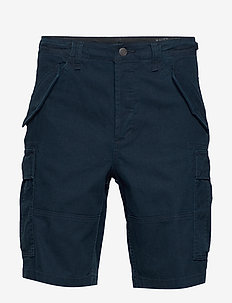 Classic Fit Camo Cargo Short - AVIATOR NAVY