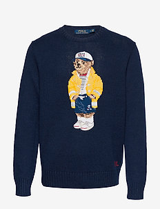 CP-93 Bear Sweater - NAVY SAILOR