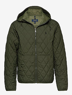 Quilted Hooded Jacket - COMPANY OLIVE