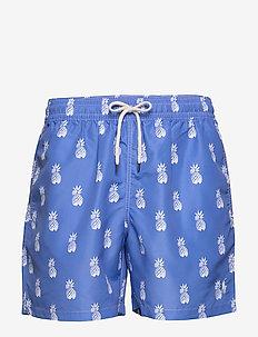 5½-Inch Traveler Swim Trunk - swim shorts - bathsheba pineapp