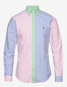 Slim Fit Oxford Fun Shirt - 4330 stripe fun s
