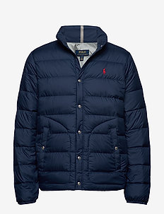 Quilted Down Jacket - padded jackets - newport navy