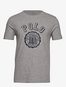 Custom Slim Graphic T-Shirt - ANDOVER HEATHER