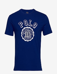 Custom Slim Graphic T-Shirt - heritage royal