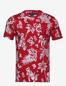 Custom Slim Fit Bear T-Shirt - RED BEARWAIIAN