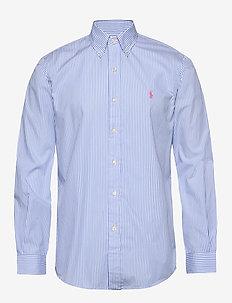 Custom Fit Striped Shirt - 4351A LIGHT BLUE/
