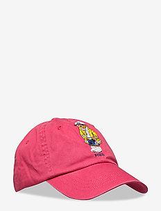 Tiger Chino Ball Cap - caps - nantucket red