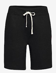 The Cabin Fleece Short - casual shorts - polo black
