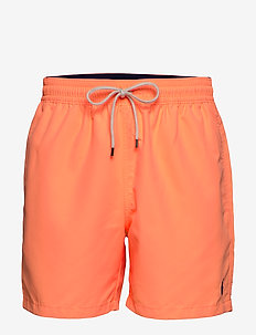 5½-Inch Traveler Swim Trunk - ORANGE SPLASH
