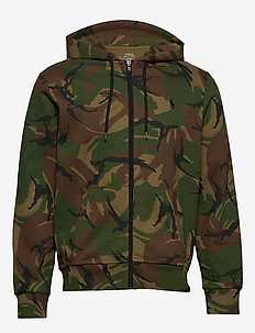 Camo Double-Knit Hoodie - hoodies - british elmwood c