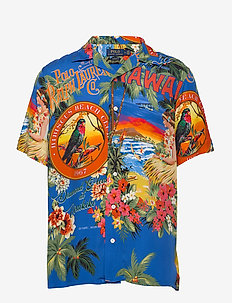 Classic Fit Tropical Shirt - 4576 cigar box