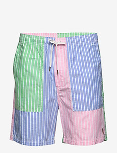 RELAXED FIT GRADUATE SHORT - FUN STRIPE