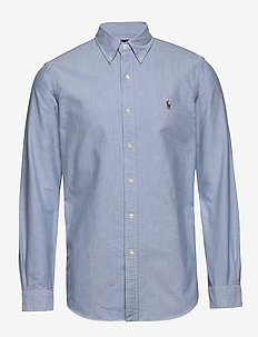 Custom Fit Oxford Shirt - BLUE