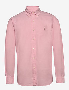 Custom Fit Oxford Shirt - pink