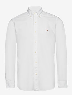 Custom Fit Oxford Shirt - oxford-skjorter - white