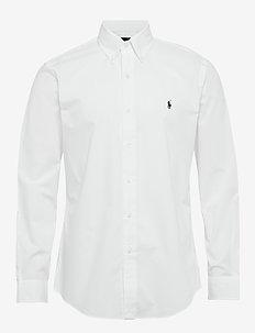 Custom Fit Poplin Shirt - basic skjorter - white