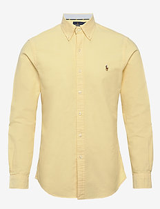 Slim Fit Oxford Shirt - basic-hemden - yellow oxford