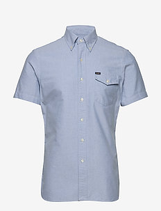 OXFORD-SL3BDBLKPKSS - oxford-skjortor - 4633 bsr blue tou