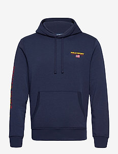 NEON FLEECE-LSL-KNT - hoodies - cruise navy