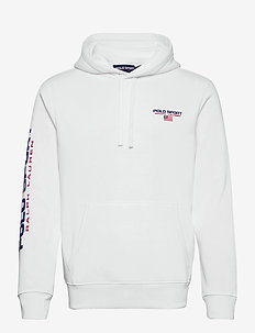 NEON FLEECE-LSL-KNT - basic sweatshirts - white