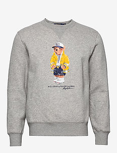 CP-93 Bear Fleece Sweatshirt - ANDOVER HEATHER
