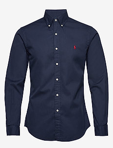 GD CHINO-SLBDPPCS - basic shirts - cruise navy