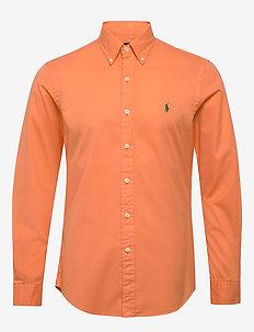 GD CHINO-SLBDPPCS - basic skjorter - pompano orange