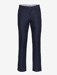 Slim Fit Pinstripe Pant - INK PINSTRIPE