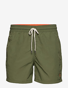 4½-Inch Slim Fit Swim Trunk - supply olive