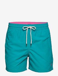 4½-Inch Slim Fit Swim Trunk - badebukser - deep aqua