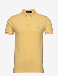 Classic Fit Mesh Polo Shirt - EMPIRE YELLOW/C61
