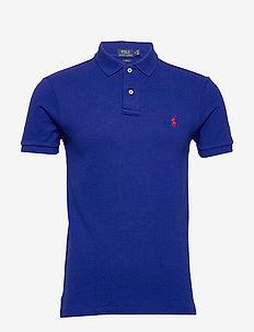 Classic Fit Mesh Polo Shirt - HERITAGE ROYAL/C3