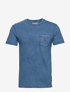 Custom Slim Fit Pocket T-Shirt - OLD ROYAL