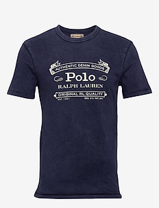 Custom Slim Fit Jersey T-Shirt - t-shirts à manches courtes - cruise navy