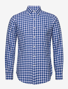 DOUBLE FACE-CUBDPPCS - checkered shirts - 4539a blue/white