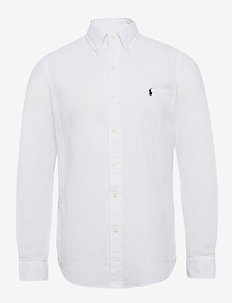 Custom Fit Double-Faced Shirt - WHITE