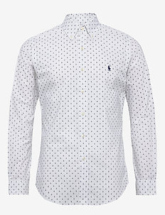 Slim Fit Dot Poplin Shirt - business-paidat - 3301b mini anchor
