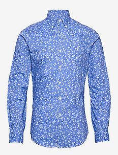 Slim Fit Dot Poplin Shirt - 4513 bahamas wake