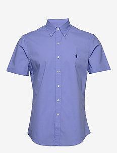 Slim Fit Poplin Shirt - PERIWINKLE BLUE