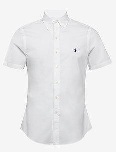 Slim Fit Poplin Shirt - basic skjorter - white