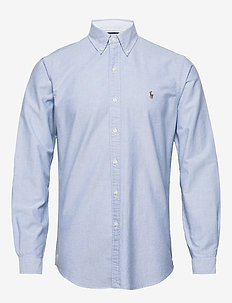 Custom Fit Oxford Shirt - basic skjorter - bsr blue