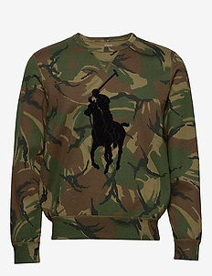 Big Pony Camo Sweatshirt - BRITISH ELMWOOD C