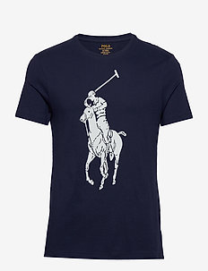 Custom Slim Fit Jersey T-Shirt - NEWPORT NAVY