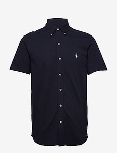 Featherweight Mesh Shirt - basic shirts - aviator navy