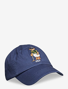 Polo Bear Chino Ball Cap - caps - boathouse navy