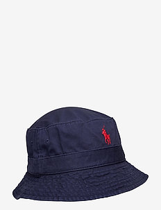 Cotton Chino Bucket Hat - bucket hats - newport navy
