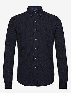 FEATHERWEIGHT MESH-LSL-KNT - koszule casual - spring navy heath
